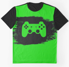 Gamershirt by Playfulfoodie